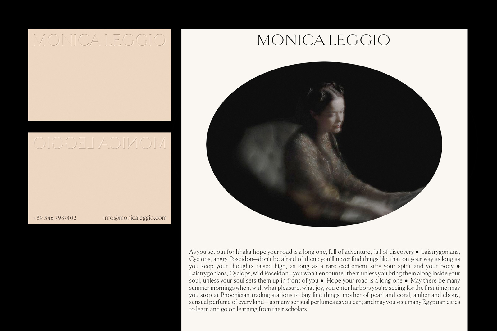 visual identity photographer monica leggio